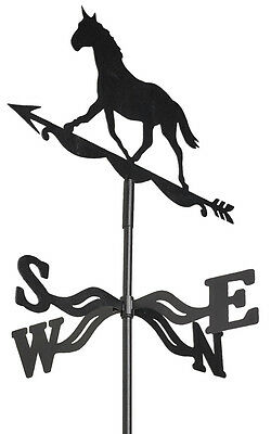 Gardman Weathervane, Striding Horse Design, Pointer, For Roof or Wall Mounting