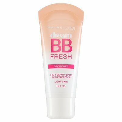 Maybelline Dream BB Fresh 8 in 1 Soy Extract Beauty Balm Light Skin