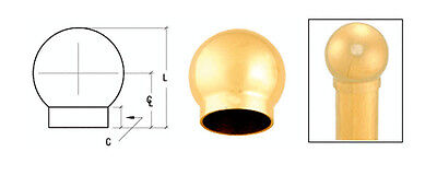 "CRL Brushed Brass 3-5/16"" 135 Degree Ball Type Side Outlet Elbows for 2"" Tubing"
