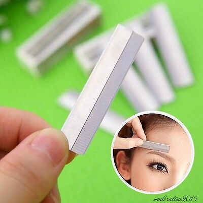 10Pcs Eyebrow Hair Face Razor Remover Safety Razor Trimmer Shaver Beauty Tools