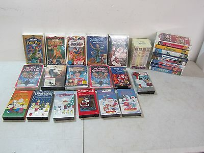 Walt Disney VHS Lot of 29 Video Tapes.VHS,Masterpiece Collection,Jim Henson,Ect.
