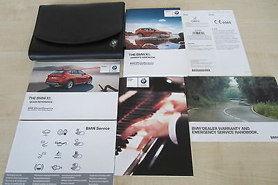 BMW X1 E84 FACELIFT 2012-2015 Owners Manual Handbook & SERVICE BOOK Wallet Pack