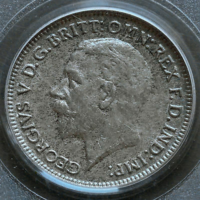 1930 George V Silver Sixpence – MS64 Choice UNC