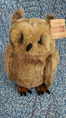 "Lou Rankin ""Winston"" the Brown Fish Owl, from Dakin.  MWT"