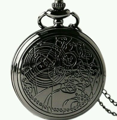 Doctor who pocket watch black