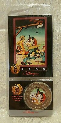 Disney Decades Coins #31 The Band Concert 1935 Featuring Mickey Band Leader