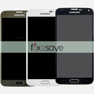 LCD Screen Touch Digitizer Display Replacement For Samsung Galaxy S5 G900 OEM