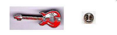 GUITARE  rouge   pin's     pins