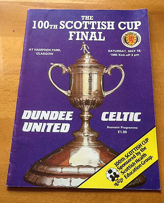 Dundee United v Celtic 100th Scottish Cup Final, 18/05/1985