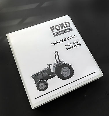 Ford New Holland 1920 2120 Tractor Shop Service Repair Manual