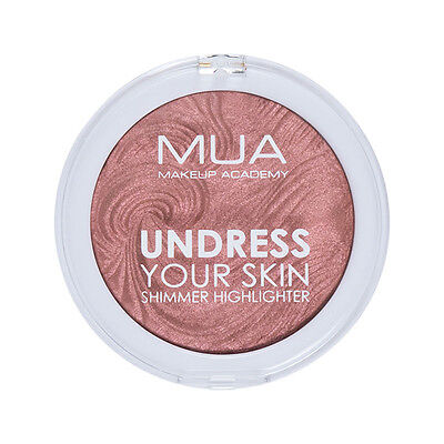 NEW MUA Undress Your Skin Highlighter Powder Rosewood Glimmer FREE 1ST P&P