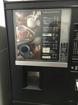 National Coffee 637-Crane-FRD & FSI Snack Or Cold Vending Machine - 3 Vending