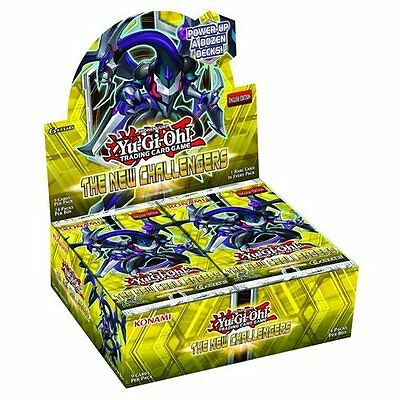 Yu-Gi-Oh! The New Challengers Booster Box of 24