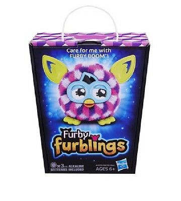 Furby Boom Furbling Creature - Pink Cubes - New & Sealed