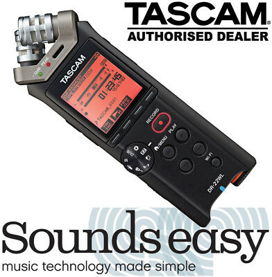 Tascam DR-22WL Linear PCM Handheld Portable Digital Recorder with WIFI