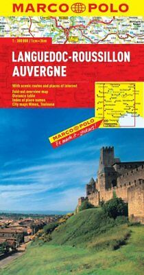 Languedoc-Roussillon, Auvergne Marco Polo Map by Marco Polo 9783829767651