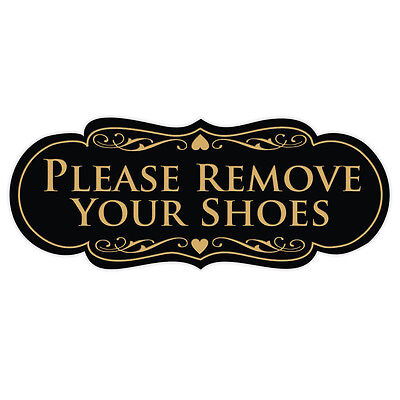 Please Remove Your Shoes - Designer Series