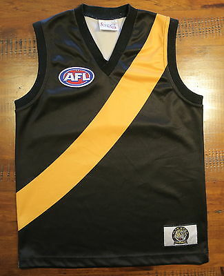 Official Richmond Tigers AFL Guernsey Size 8