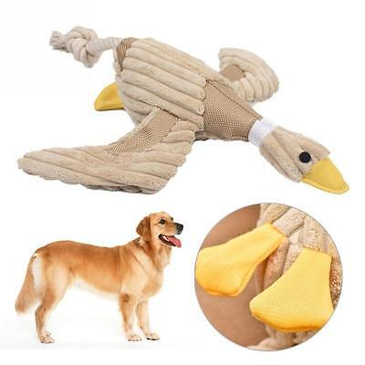Funny Pet Puppy Chew Squeaker Squeaky Plush Sound Duck Cat Dog Play Toy Nontoxic