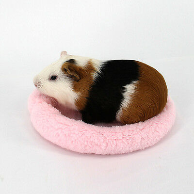 Soft Fleece GuineaPig Bed Winter Small Animal Cage Mat Hamster Sleeping House
