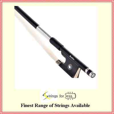Violin 4/4 Bow Stamped Mueller Carbon Fiber / Graphite strength,and flexibility
