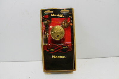 Disc Lock  Master Lock Disc Lock With Reminder Cable