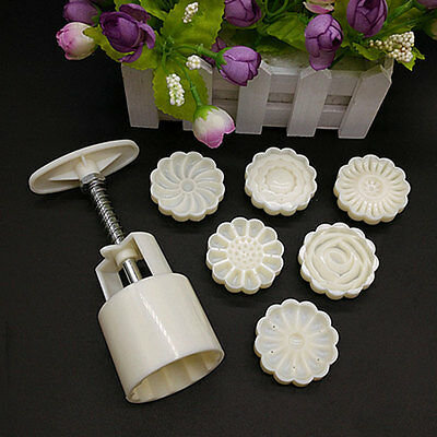 Mid-Autumn Festival Pressure Mooncake Mold Cookie Cutter Cake Bakeware Tool