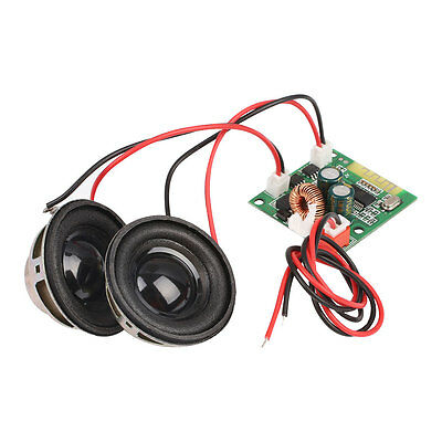 Bluetooth Audio Amplifier Board Double Speakers Receiver Self Balance Unicycle