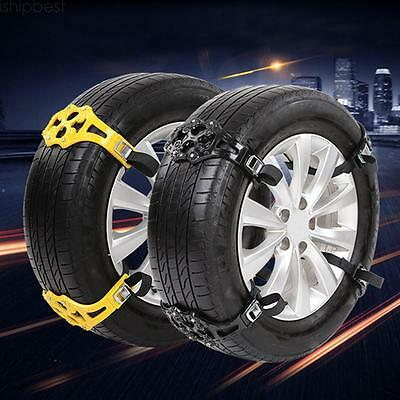 New Car Snow Mud Sand Chain Black Tire Chain Anti-skid Belt Tyre Chains for Cars