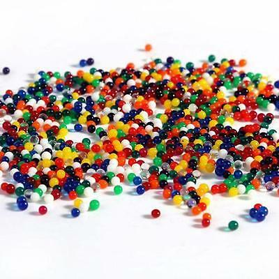 1000pcs Water Balls Crystal Pearls Jelly Gel Bead for Orbeez Toy Refill Color DA