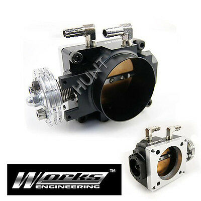 70mm Racing Throttle Body Fits Mitsubishi Lancer EVO 1 2 3 CD9A CE9A 4G63 Turbo