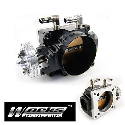 70mm Racing Throttle Body Fits Mitsubishi Lancer EVO 4 5 6 7 8 CT9A 4G63 Turbo
