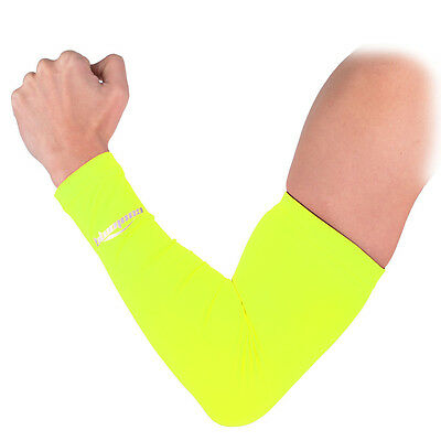 COOLOMG 1PC Youth Adult Arm Sleeve Basketball Ribbon Breast Cancer Awareness