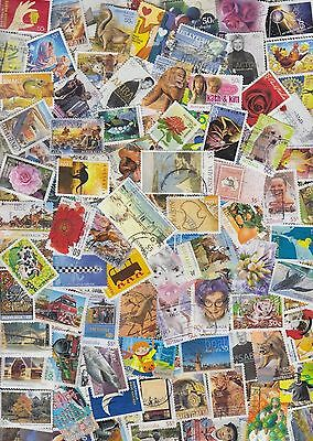 1500 All Different Australian stamps includes high values and recent to 2014