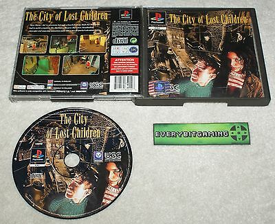 The City Of Lost Children - Playstation One Game PS1 PS2 PS3 - PAL