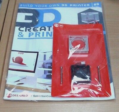 Build a 3D Printer magazine Partwork: Create & Print Vector 3: Issue #69