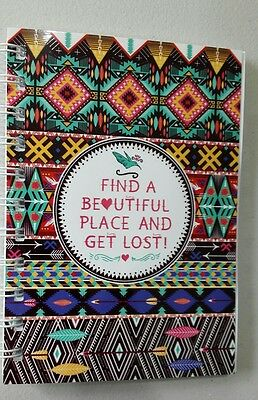 2017-2018 mini diary beautiful place A6