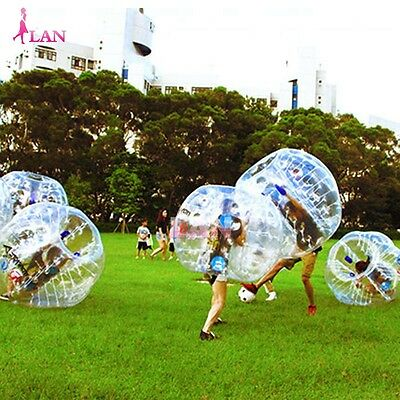 NEW 1.8M Body Inflatable Gum Bumper Football Zorb Ball Human Bubble Soccer Ball