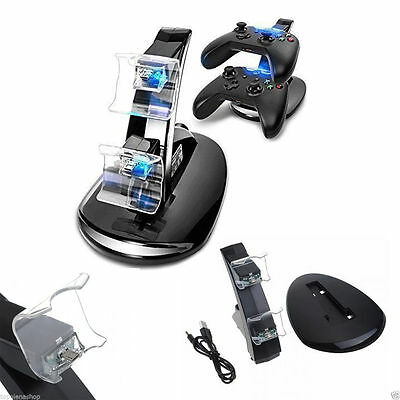 Pdr*caricatore Controller Playstation 4 Doppia Stazione Docks Ps4 Linq Snd-824