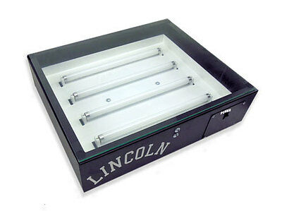 Lincoln 20x24 Exposure Unit for Screen Printing silk screening with Free Gift!