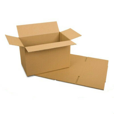 Cardboard Postage Boxes Single Wall Postal Mailing Pillar Candle Box 6 x 4 x 4""