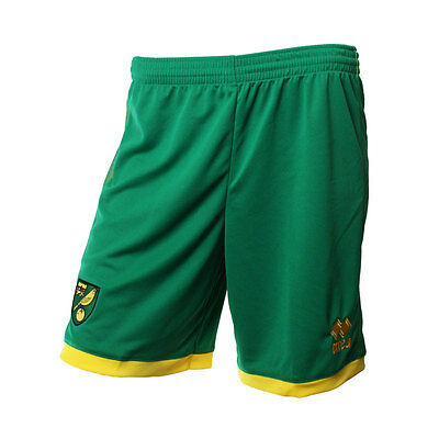 Official Norwich City Fc 2016-17 Player Worn Shorts