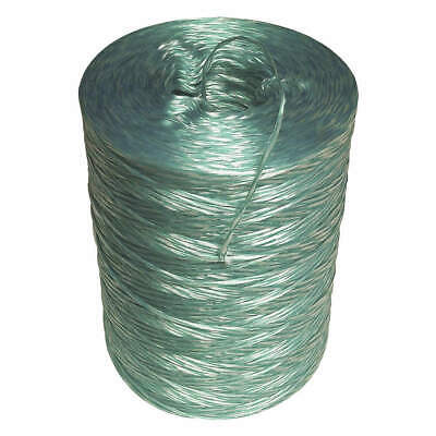 GRAINGER APPROVED Twine,Polypropylene,6500 ft. L,Dynamic, 18218, Green/White