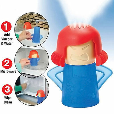 HOT Metro Angry Mama Microwave Cleaner Cooking Kitchen Gadget Tools