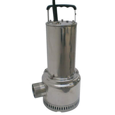 DAYTON Submersible Dewatering Sump Pump,1/2 HP, 11C687