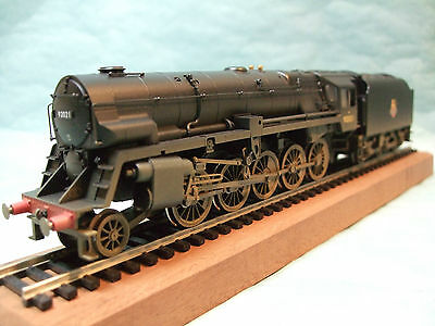 R3356 Hornby Railroad BR Class 9F Crosti Boiler 92021 (Weathered)