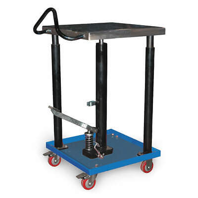 GRAINGER APPROVED Hydraulic Lift Table, 18x18x49 In., HT-05-1818A