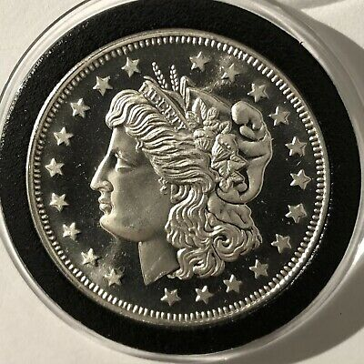 Oklahoma Federated Gold & Numismatic, Inc. 1 Troy Oz .999 Fine Silver Coin Round