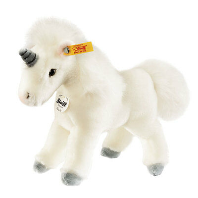 Steiff Baby Unicorn Stuffed Animal - Plush Plushie White Soft