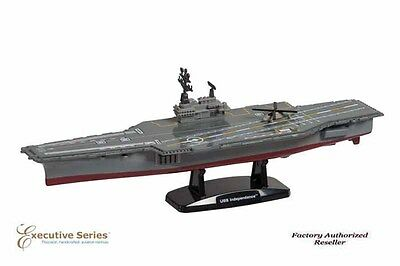"Aircraft Carrier USN Independence  Assembled 9"" Die- Cast Metal Desktop  Model"